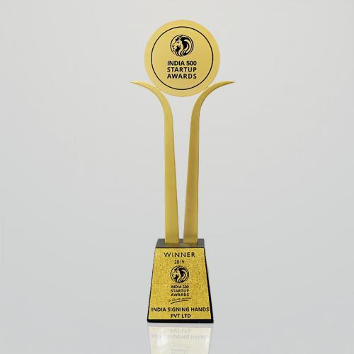 India 500 StartupAwards2019 (Trophy)